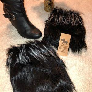 Shoes - Boutique Faux Fur Boot Cuffs